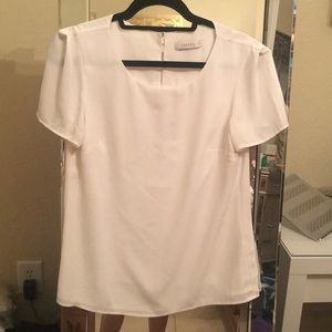 White blouse top from Oasis